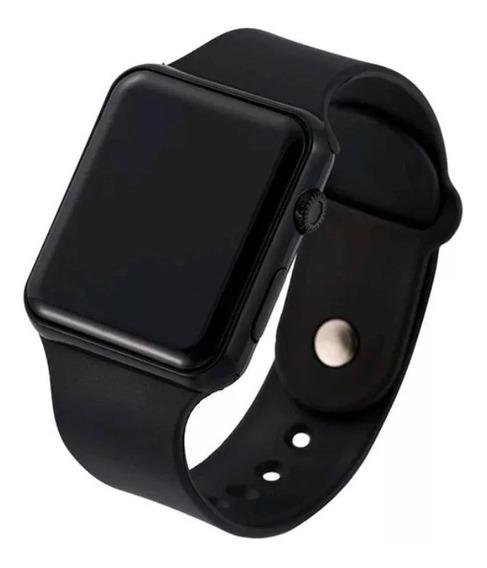2 Unidades Relogio Digital, Relógio Digital Esportivo Bracelete Led Mas