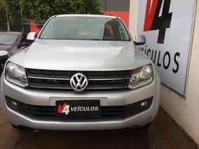 Volkswagen Amarok Trendline 2.0 Autom. 2013 Prata Diesel