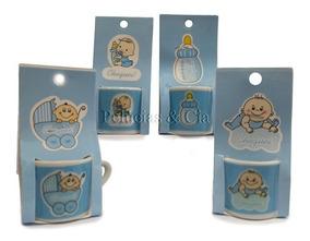 Lembrancinha De Maternidade - Mini Caneca Bebe Azul 01dz