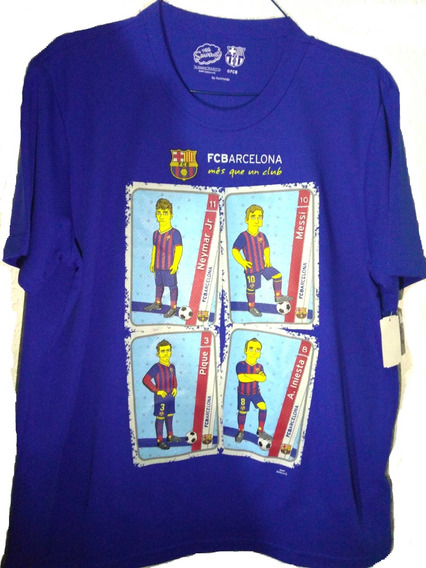 Playera Original Simpsons Barcelona Super Precio!!!
