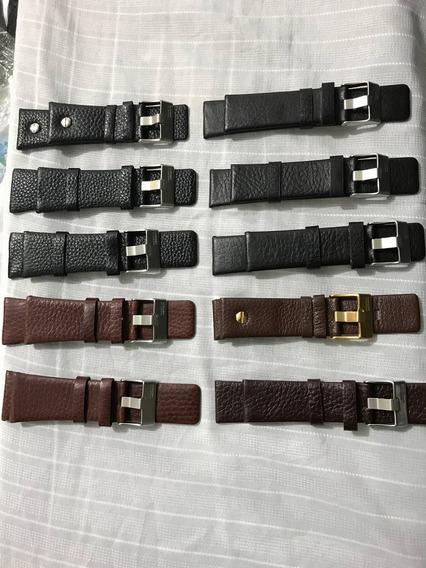 Pulseiras Relógios Diesel Em Couro