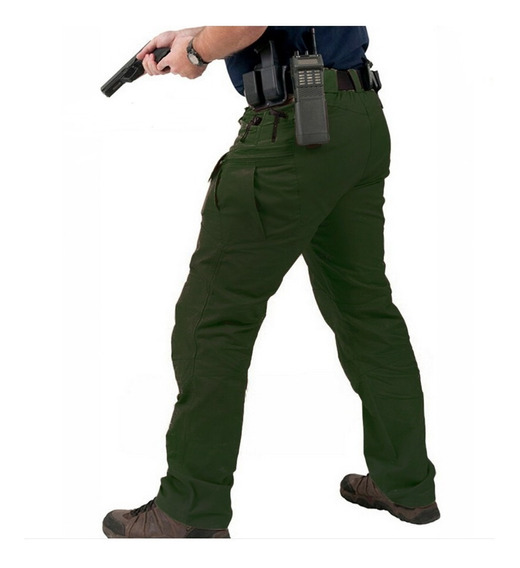 Pantalon Cargo Hombre Tactico Militar Ripstop Urbano - Lito