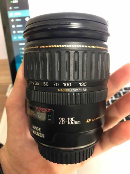 Lente Canon Ef 28-135mm F/3.5-5.6 Is Usm (leia O Anúncio)