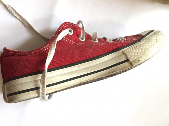 Converse All Star Low Rojas Talle 31