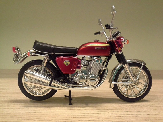Miniatura Moto Honda Cb750 Cb 750 Joycity Escala 1:12 (17cm)
