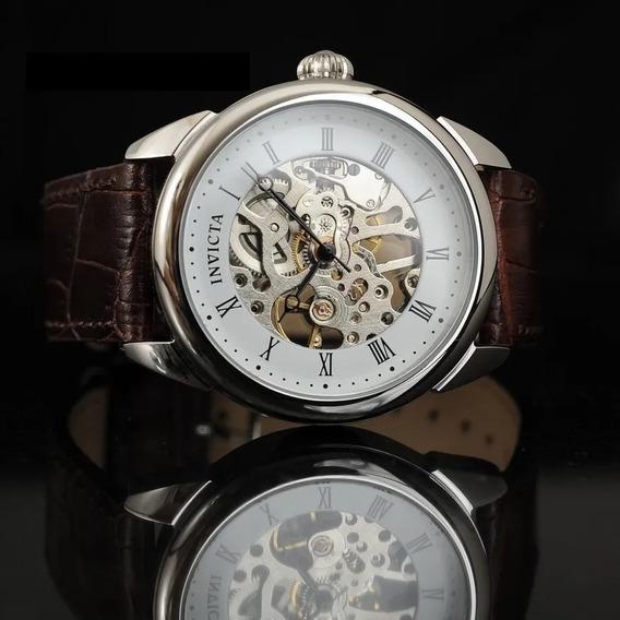 Relógio Invicta Specialty Mechanical Skeleton 17185 Original