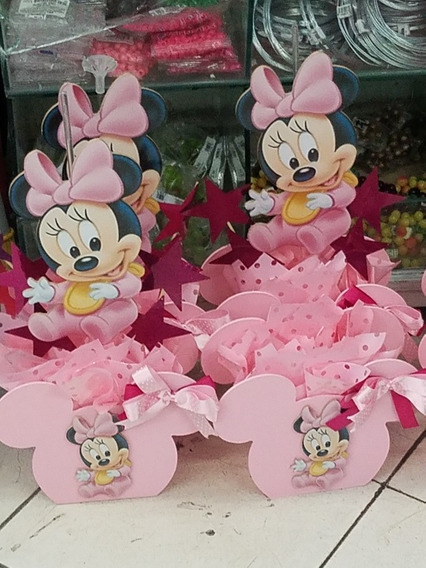 Centros De Mesa Minnie Mause- Mickey, Decoracion