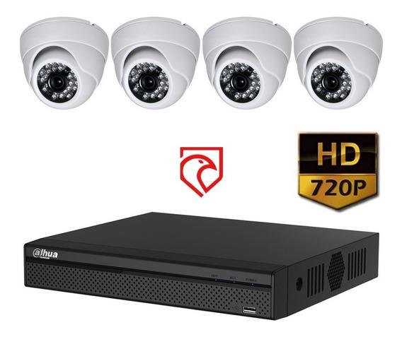 Kit Dvr 8 Seguridad Dahua Xvr1a08 720p + 4 Cam 1mp Martinez