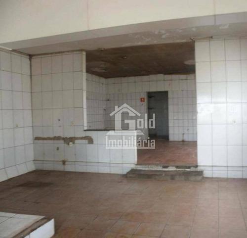 Salão Para Alugar, 80 M² Por R$ 1.200,00/mês - Jardim Paulista - Ribeirão Preto/sp - Sl0185