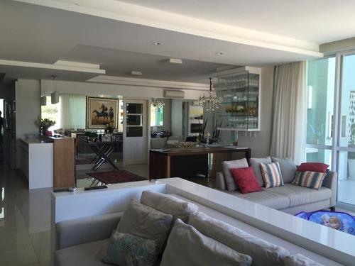 Imagem 1 de 30 de Cobertura Nova Com 4 Dormitórios Em Jurerê Internacional - Co0628