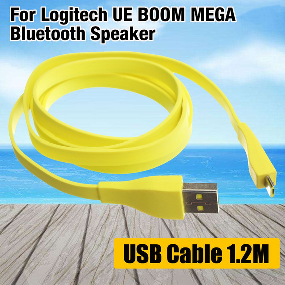 Para Logitech Ue Boom Mega Bluetooth* Speaker Pc/dc Carregad