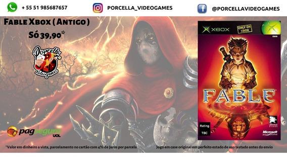 Jogo Fable Original Midia Física Para Xbox ( Antigo )