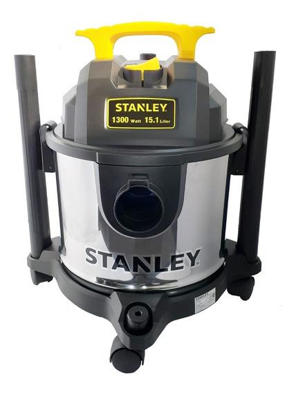Aspiradora Stanley Sl1901-4b 15 Litros 1300w Acero Inox