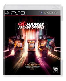 Jogo Novo Midway Arcade Origins Para Playstation 3 Ps3