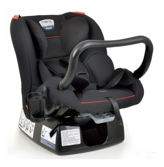 Cadeira Cadeirinha De Carro Burigotto Matrix Evolution Red