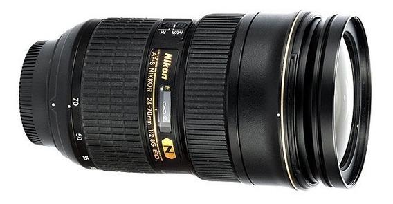 Lente Nikon 24-70 - Nova Sem Uso - Estudo Propostas