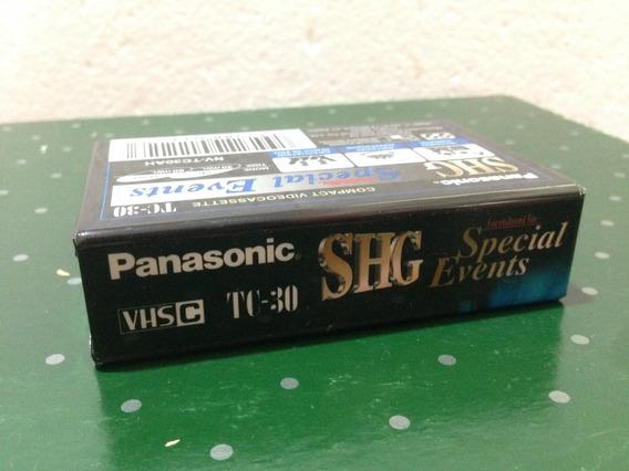 Fita Vhs Panasonic Original
