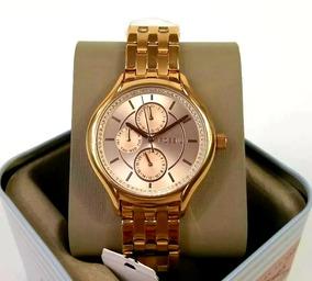 Relógio Fossil Bq1581ie Feminino Rose Original