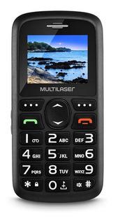 Telefone Celular Preto De Idoso Vita Dual Chip P9048