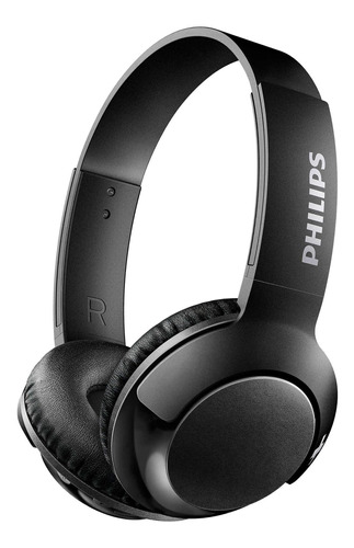 Auriculares inalámbricos Philips BASS+ SHB3075 black