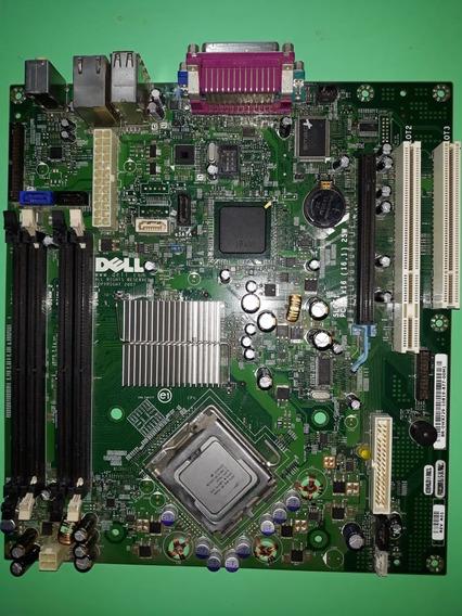 Placa Mãe Dell Optiplex 755 Dt - Com Defeito