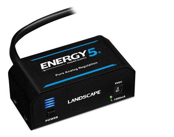 Fonte Para Até 5 Pedais - Landscape E5 Energy 5 1000ma