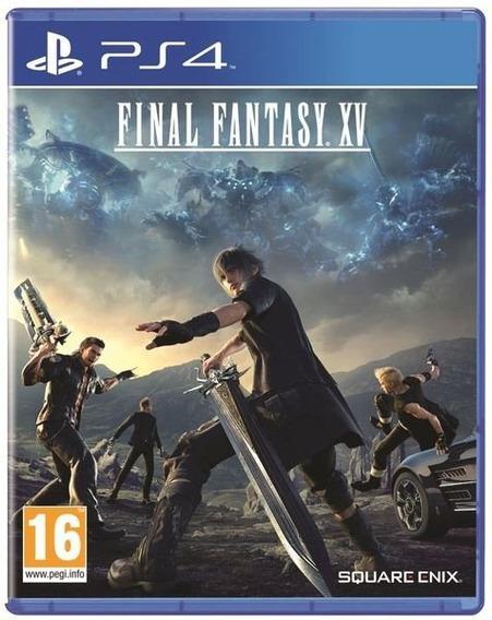 Ps4 Final Fantasy Xv 15 Mídia Física Lacrado Em Português