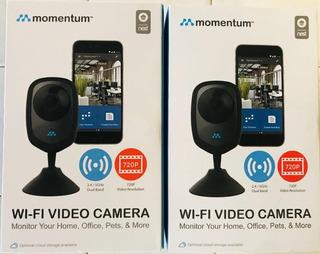 Cámara De Vigilancia De Vídeo Momentum Mocam - 720-01 720p W