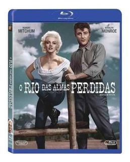 Blu-ray O Rio Das Almas Perdidas Marilyn Monroe Robert Mitch