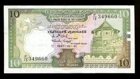 Cédula Do Sry Lanka - Flor Estampa - L.375