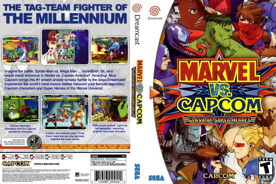 Marvel Vs Capcom Collection - Dreamcast - Patch - Selfboot