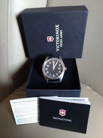 Victorinox Swiss Made Militar Zero Caixa Manual Só R$ 690