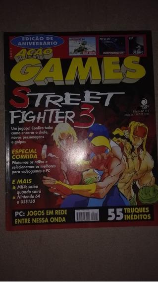 Revista Ação Games 115 Maio De 1997