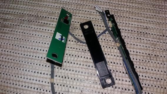 Placa Sensor Cr Tv 32lt560h +teclado De Funçoes