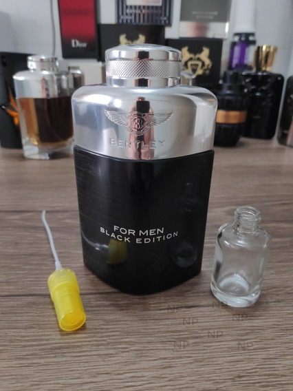 Bentley For Men Black Edition - Decant / Amostra 10ml