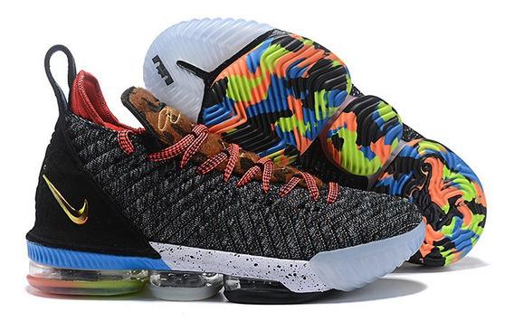 Tenis Nike Lebron 16 Na Caixa Frete Gratis Varias Cores