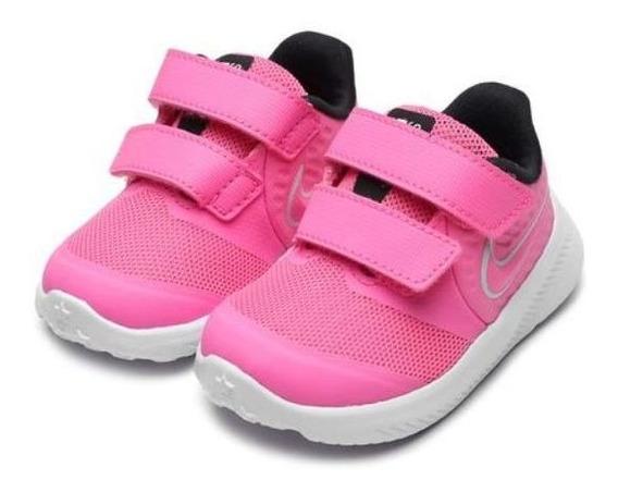 Tênis Nike Star Runner 2 Rosa Original C/nota Fiscal