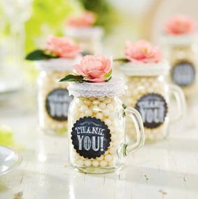 Mason Jar Mini Con Asa 4 Oz Vaso Frasco Tarro Vasito