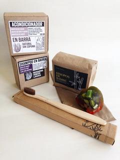 Kit De Baño Zero Basura ( Waste ) Cero Plástico