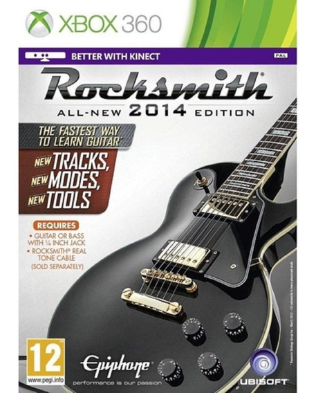 Rocksmith All-new 2014 Edition Sem Cabo - Xbox 360 - Lacrado