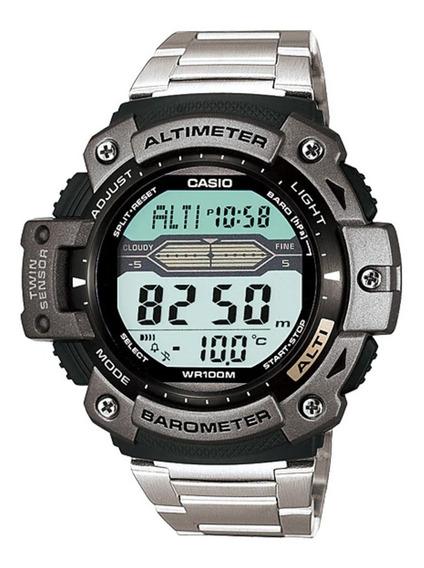 Relógio Masculino Casio Outgear Sgw300hd-1av - Chumbo/prata