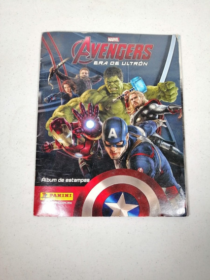 Álbum Marvel Avengers Era De Ultron Panini.
