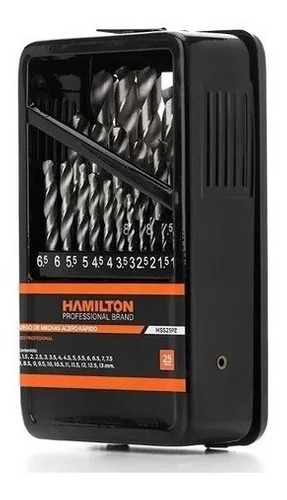 Juego De Mechas De Acero Rápido - 25 Piezas Hamilton Hss25pz