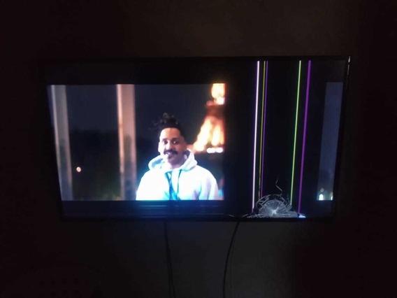 Smart Tv Samsung 48 Polegadas Tela Trincada