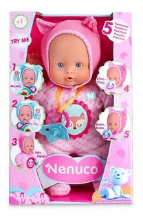 Muñeca Nenuco 5 Funciones Rosado 13381