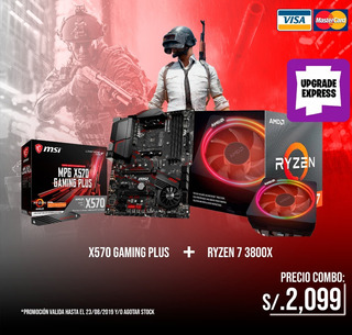 Ryzen 7 3800x + X570 Gaming Plus