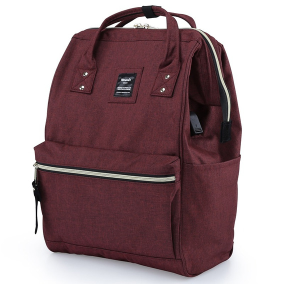 Mochila Bolso Himawari Con Usb Ideal Notebook Con Envio Full