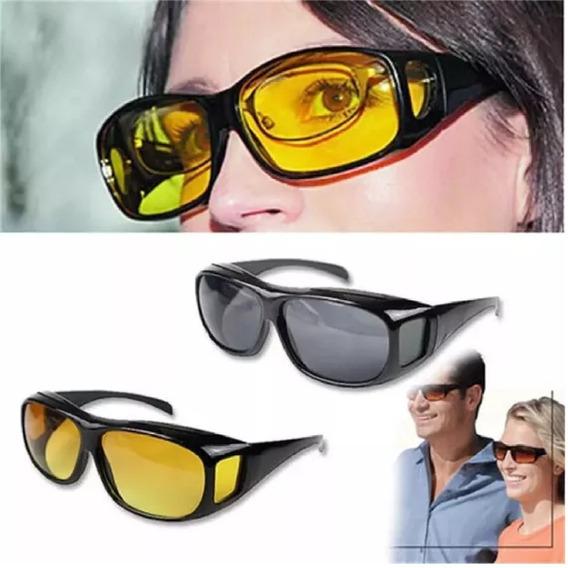 Óculos Night-drive Para Dirigir A Noite! Sobrepor O De Grau!