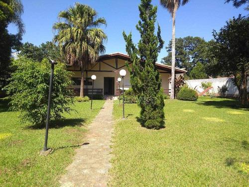 Chácara Com 3 Dormitórios À Venda, 1800 M² Por R$ 850.000,00 - Chácara Remanso (caucaia Do Alto) - Cotia/sp - Ch0212