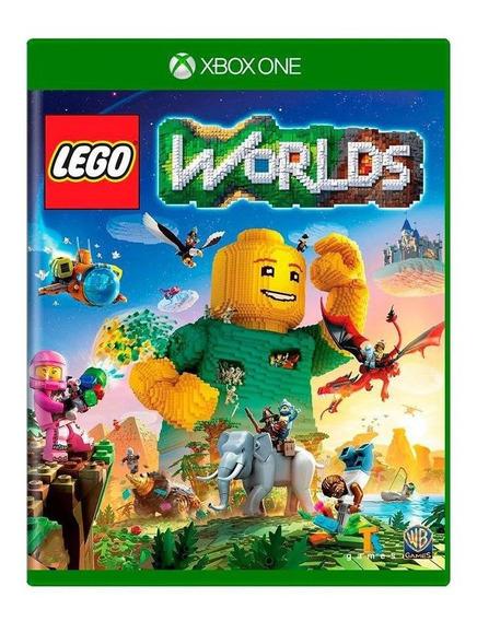 Lego Worlds Xbox One Mídia Física
